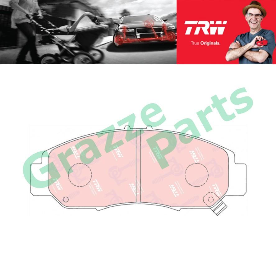 TRW Brake Pad Front for GDB3268 - Honda Accord SDA TAO Odyssey RB2 RB3 STREAM