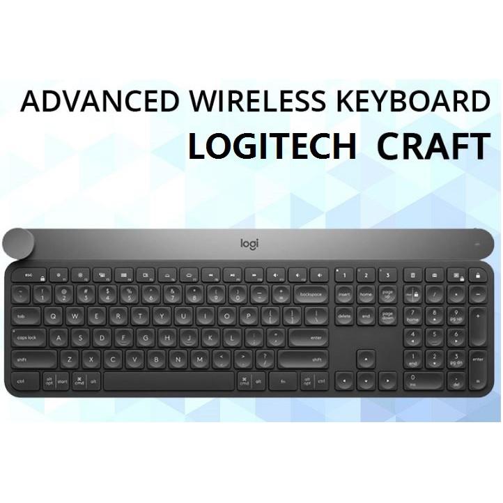 021f2114b63 Logitech Craft Advanced Wireless Keyboard with Creative Input Dial | Shopee  Malaysia