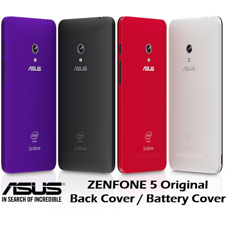 Original ASUS Zenfone 5 T00J A500CG A501CG A500KL Back Cover with Side  Buttons