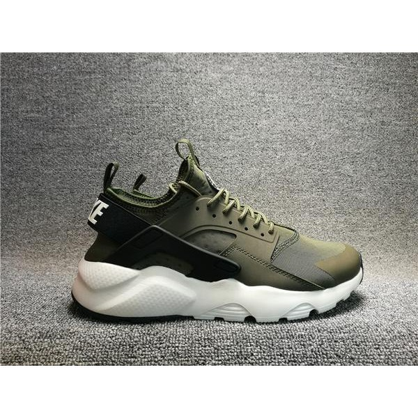 the latest 0a2b3 f398d Original Nike Air Huarache Run Ultra Army Green