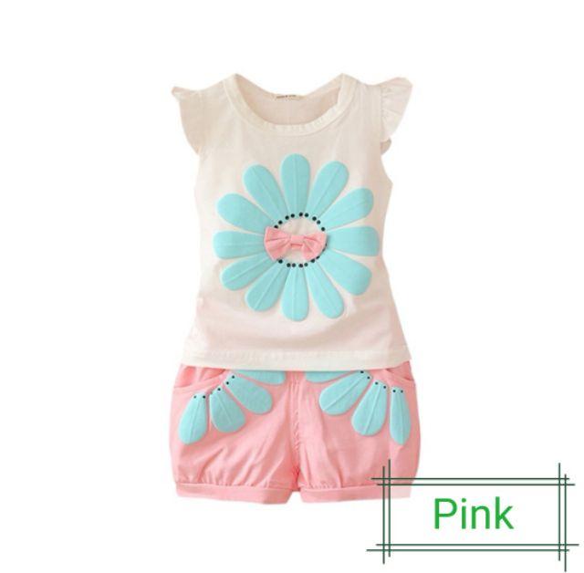 Baby Girl Cloth Set<Ready Stock>