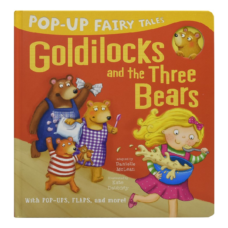 STORY TALES GOLDILOCKS AND THE 3 BEARS DRESSING UP COSTUME AGE 3-4 YEARS NEW