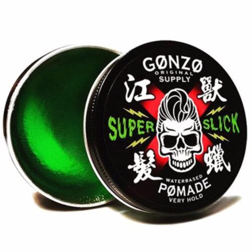 Gonzo Super Slick Waterbased Pomade (130g)