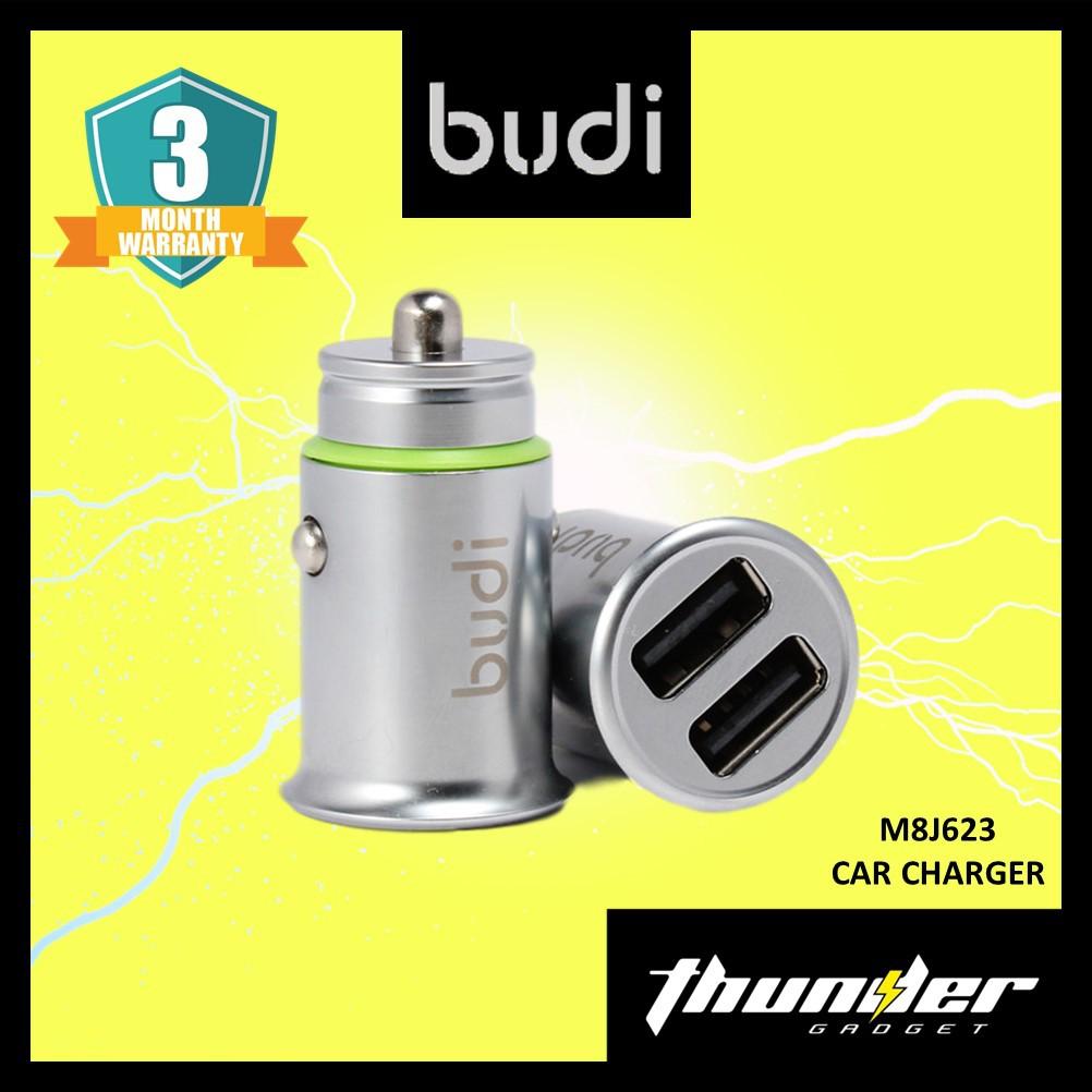 Budi M8J623 4.8A 2 USB CAR CHARGER