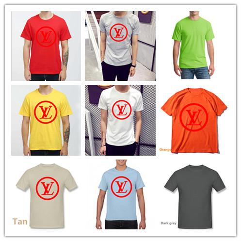 PUNK Funny POLO Short-sleeved Sport Clothes Tops Ready Stock Men T-shirt  Women Tee Unisex MAN T SHIRT LOUIS VUITTON LV