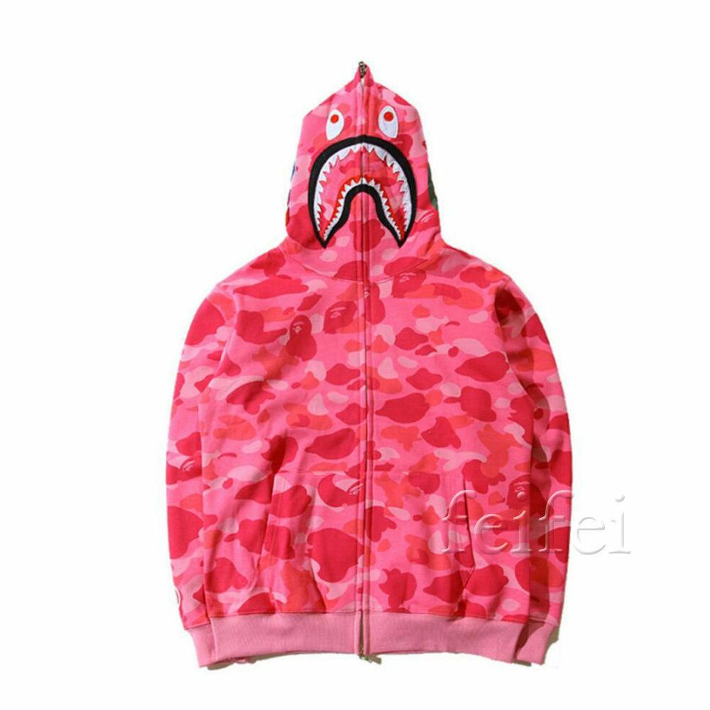 Lovers BAPE A Bathing Ape Golden Sweater Hoodie Cotton Sweatshirts Coat Jacket