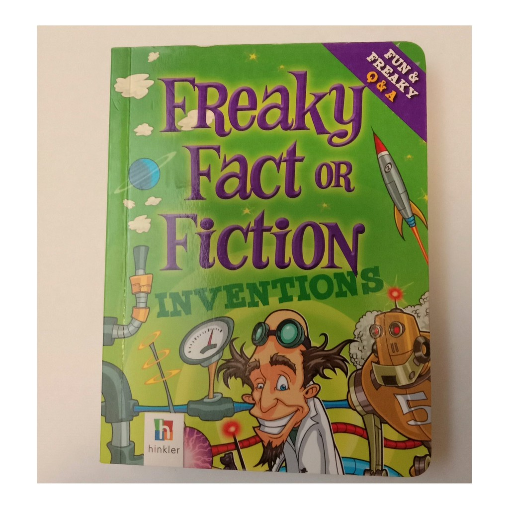 Freaky Fact or Fiction Inventions- Book