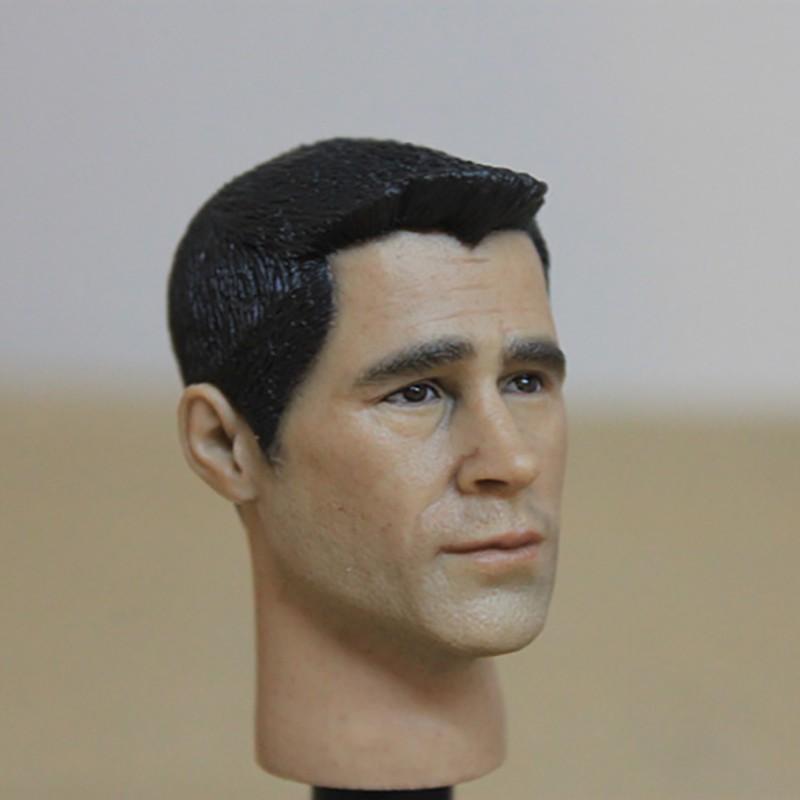 1//6 Military Colin Farrell Male Head Sculpt HP-0062 Fit 12/'/' Phicen Body Figure