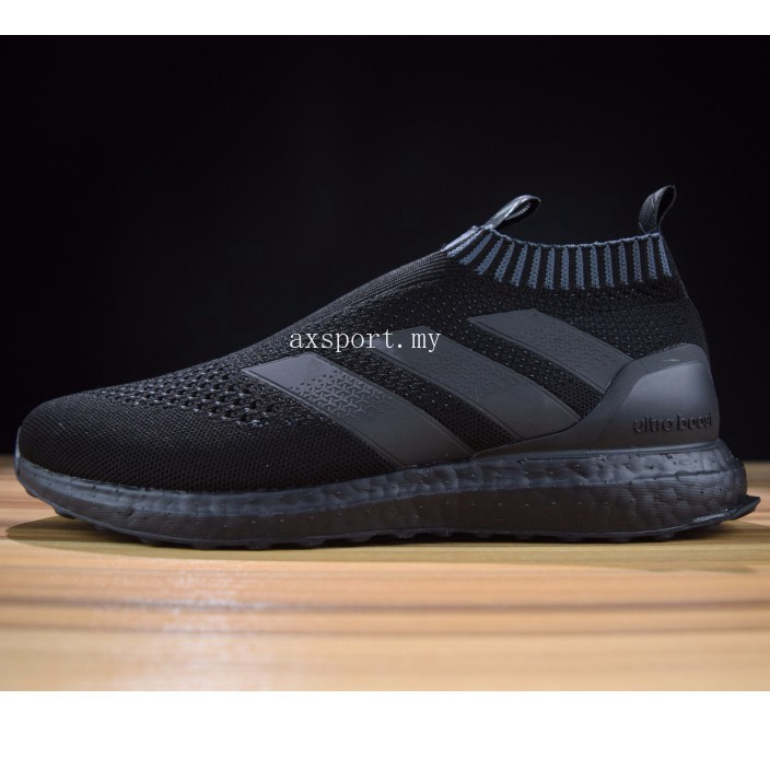 wholesale dealer 0b03f 06c15 ADIDAS Kith x Ace 16+ PureControl Ultra Boost all black ready stock real  boost