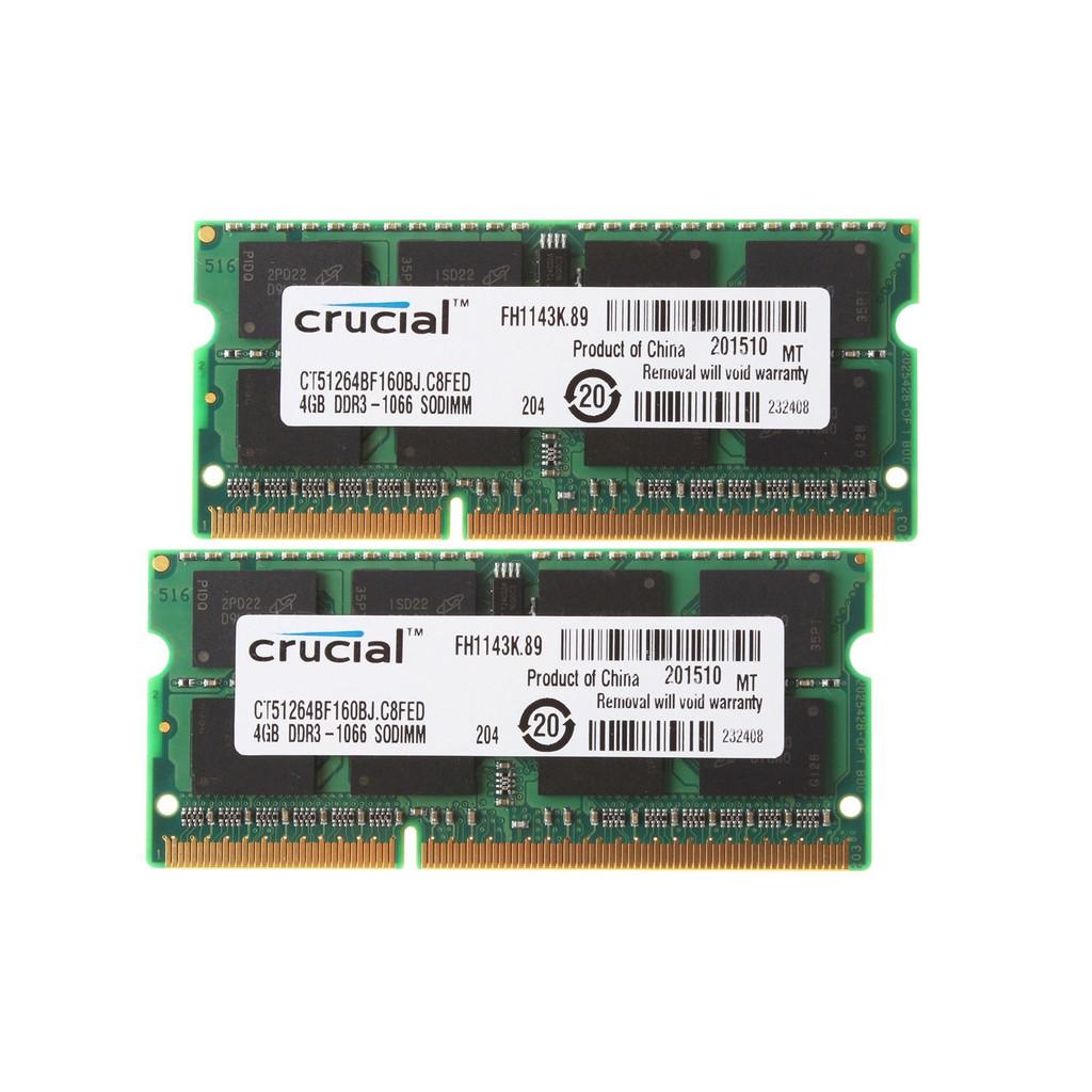 Samsung 2GB PC3-8500s DDR3-1066 1066Mhz 204pin Sodimm 2G Laptop Memory PC3 8500