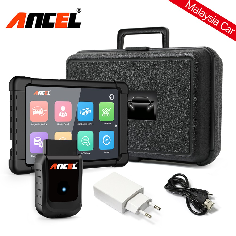 Ancel X5 OBD2 马来西亚汽车 检测仪 Diagnostic Tool For Proton Perodua Engine Code  Reader ABS SRS DPF Scanner Full System car Tool