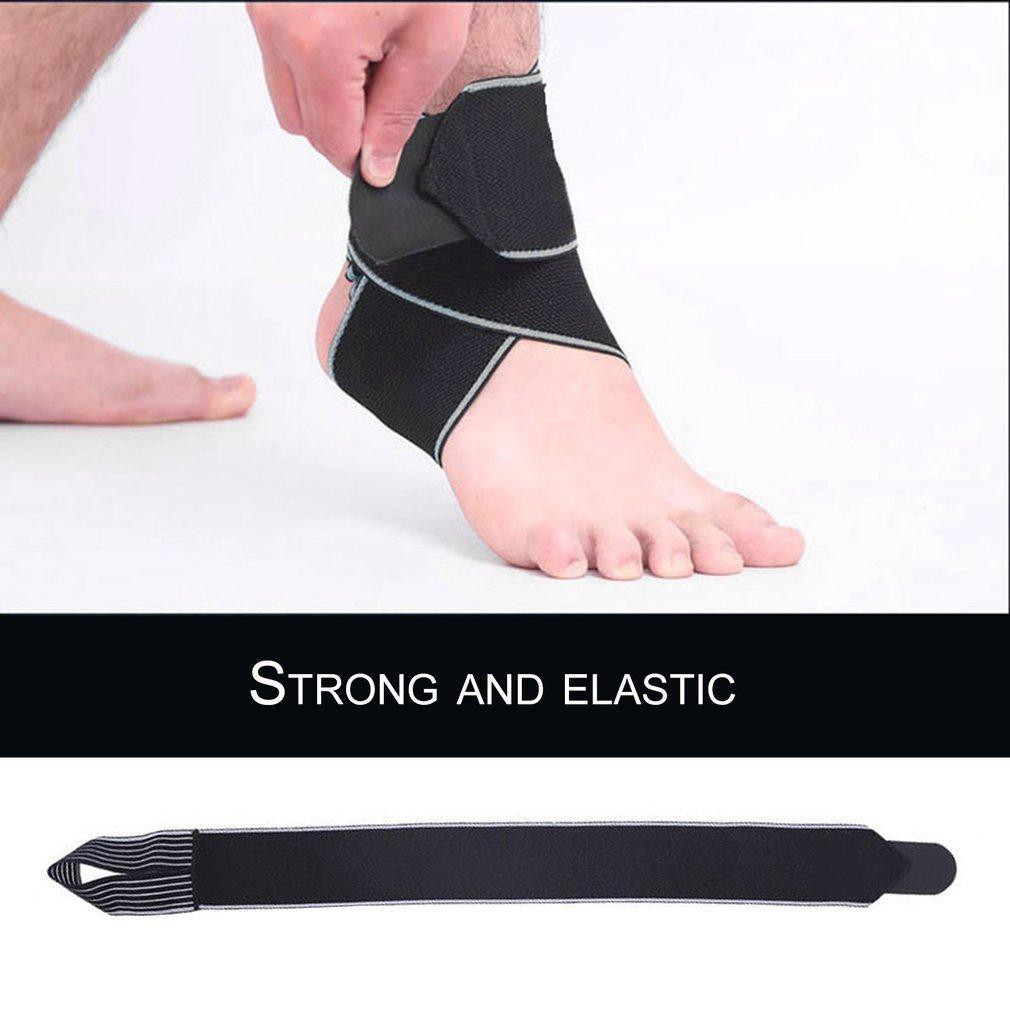 Ankle Support Brace Foot Guard Injury Wrap Elastic Splint Strap Protector
