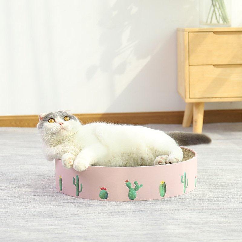 NOMI Cat Scratcher Board Cat Toy Catnip Cat Tree Cat Scratches Papan cakar kucing murah scratch Cat scratching 猫抓板