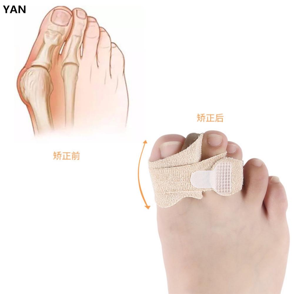 Thumb Valgus Big Toe Gel Cloth Stretch Toe Valgus Corrector Toe Correction Belt