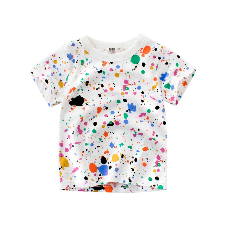 e590ca10f7c11 ProductImage. ProductImage. Korean children's wear summer baby short-sleeved  children's t-shirt boy's half-s