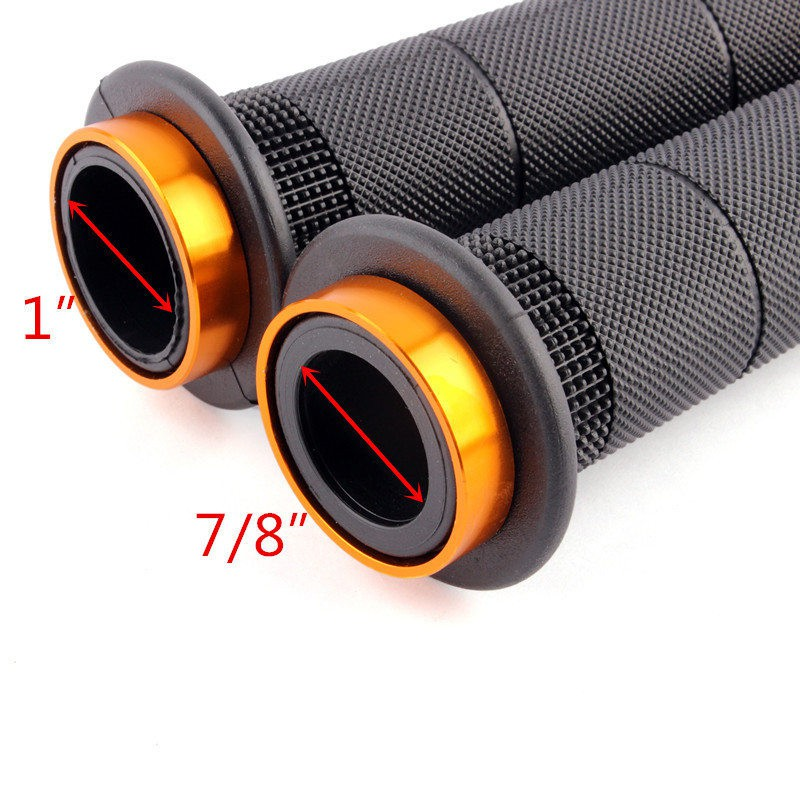 1 x Warrior Silicone Black Motorcycle Motorbike Lever Grip Cover