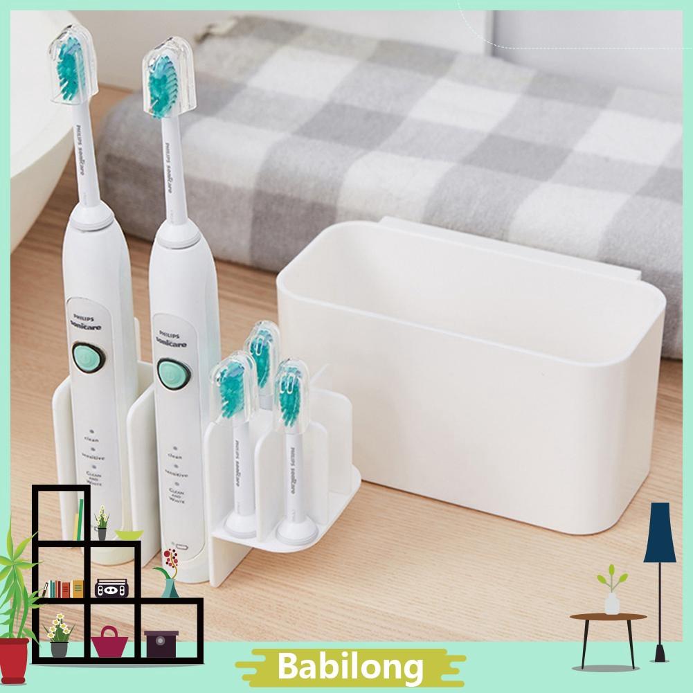 1Set Toothbrush Holder Bathroom Multi-Purpose Strong Suction Toothbrush