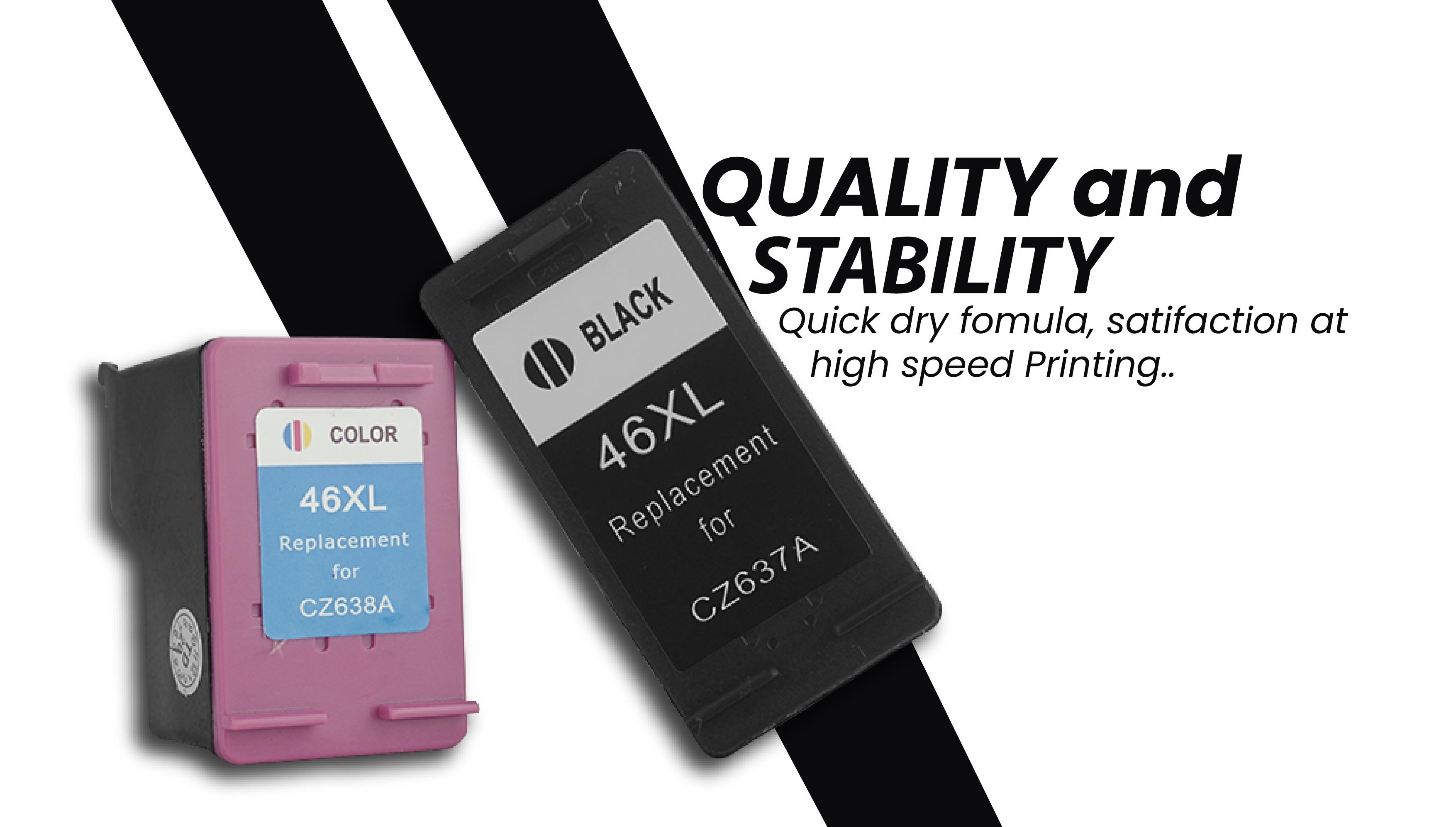 Jadi HP 678XL Combo Remanufactured Ink Advantage Cartridge