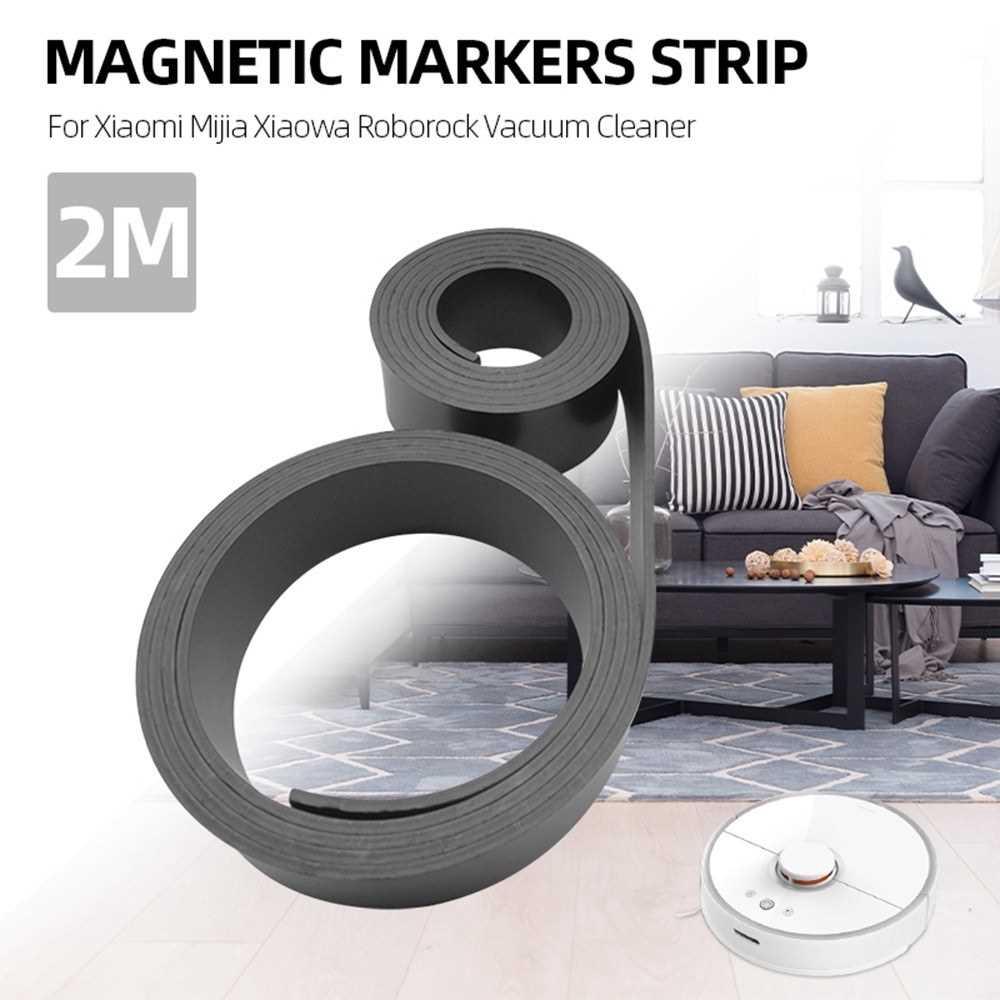 Vacuum Cleaner Parts Magnetic Markers Strip 2M for Xiaomi Mijia Xiaowa Roborock Vacuum Cleaner (Standard)