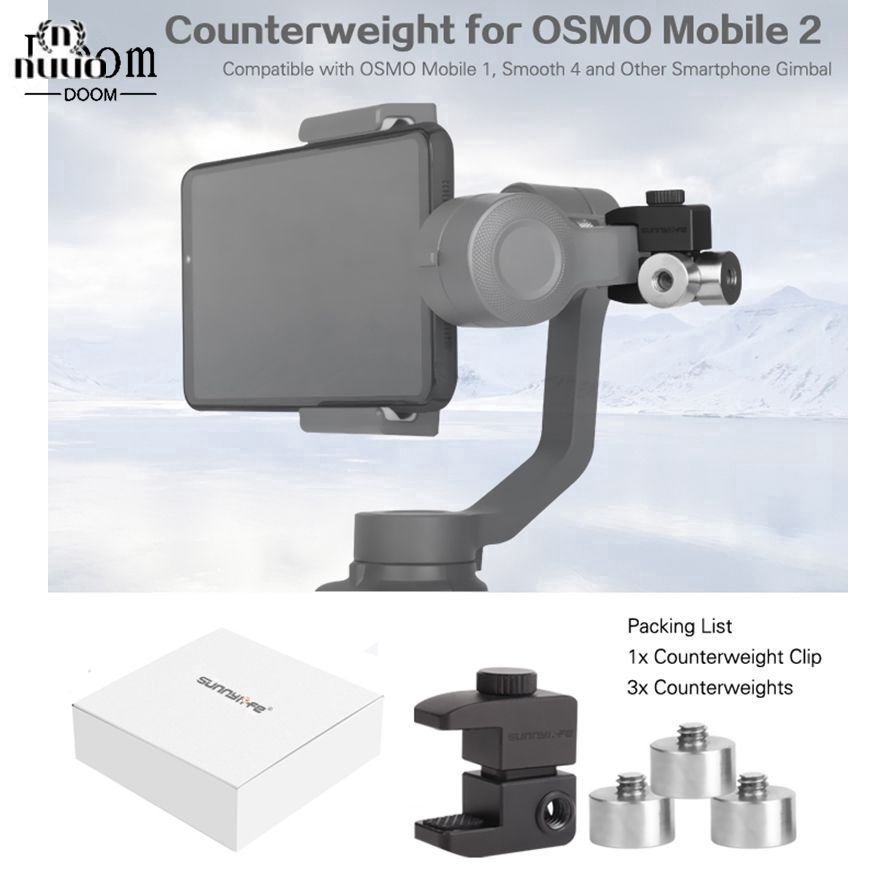Handheld Gimbal Accessory Counterweight Balance Gadget