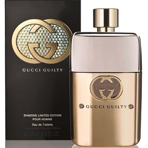 906516484a5 Gucci Guilty Pour Homme Diamond EDT 90ml For Men