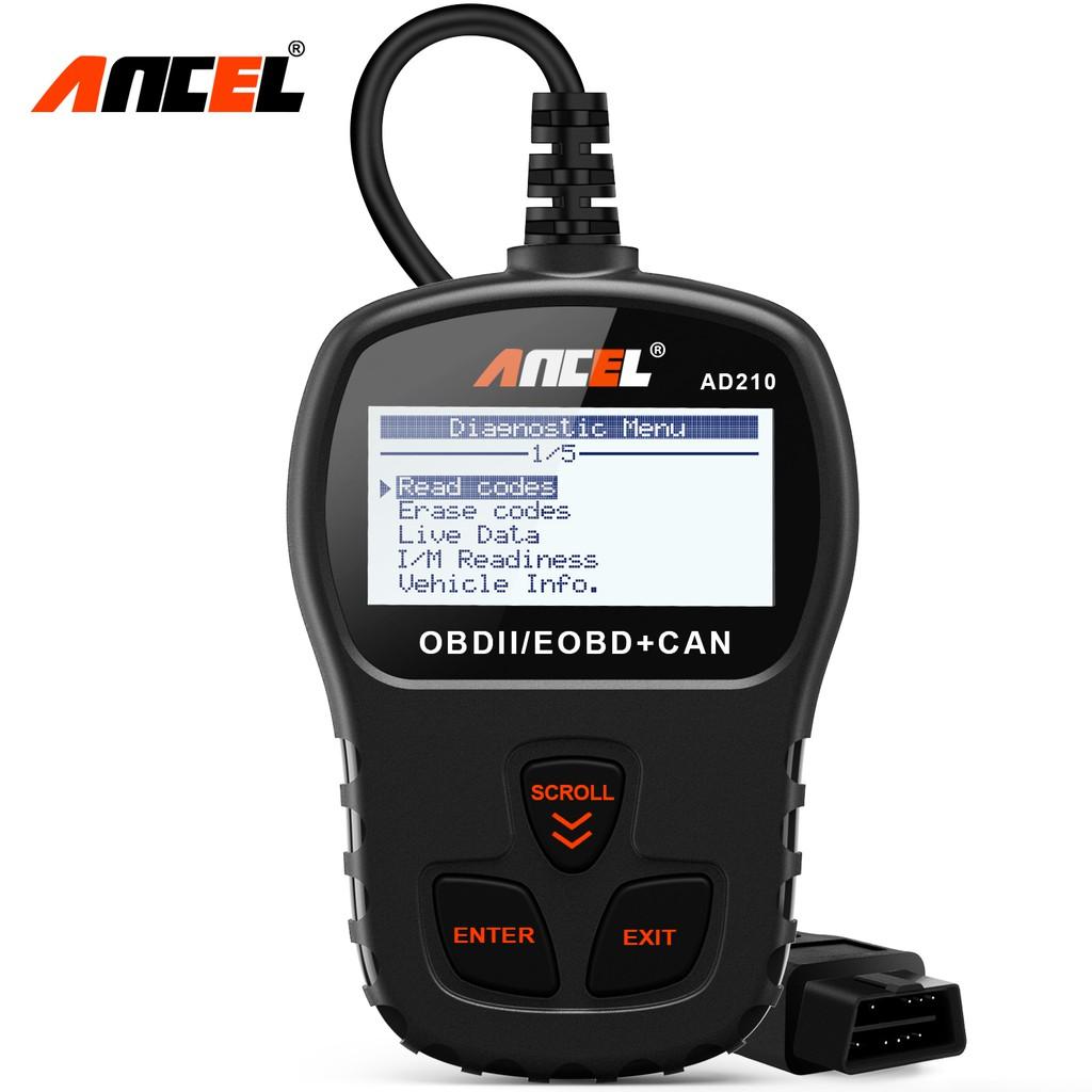 Ancel AD210 OBD2 Scanner 读码器 引擎检测 Engine Read Erase Codes For Most OBD2 Car  Four Mdules Car Diagnostic
