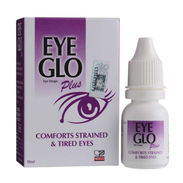 Eye Glo Plus Liquid 10ml Comfort Tired Eyes