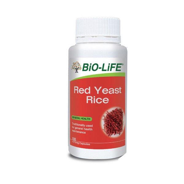 Bio-Life Red Yeast Rice 100\'s