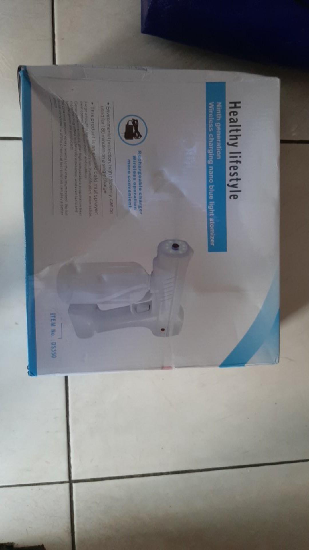 Msia Stock Nano Steam Mist Spray Gun Wireless Atomizer Hand Sanitizer Disinfectant Gum Sanitiser Machine Disinfection Shopee Malaysia