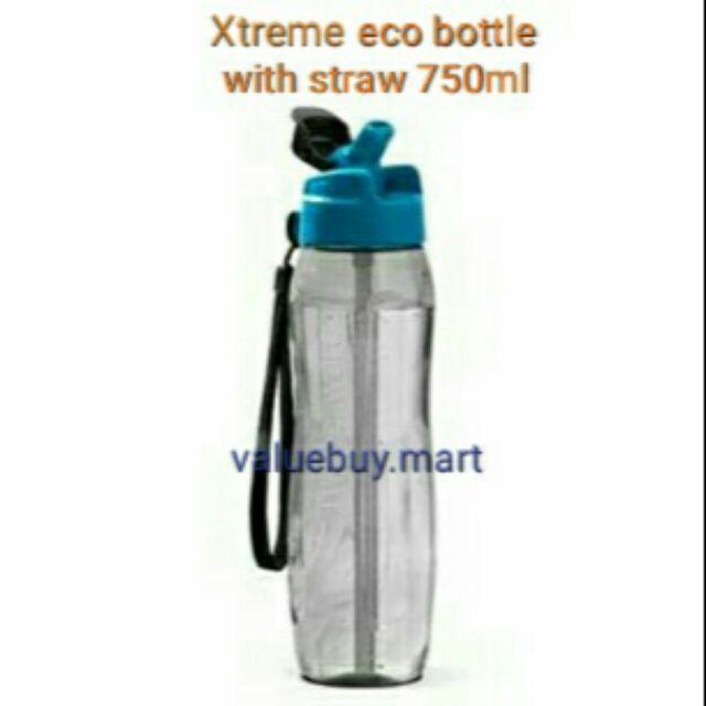 Tupperware Xtreme eco bottle with straw 750ml