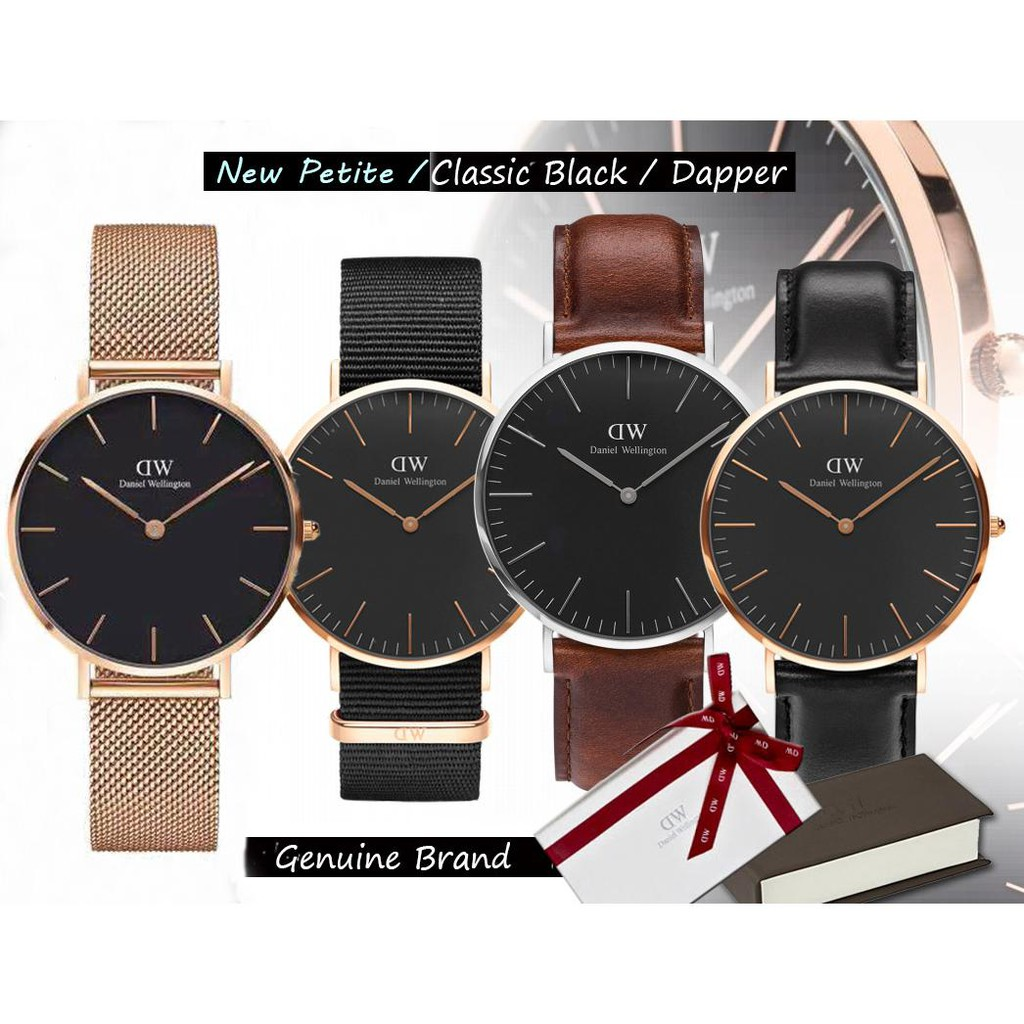 85a438872245 Original Daniel Wellington DW Watch Men Classic Black Sheffield ...