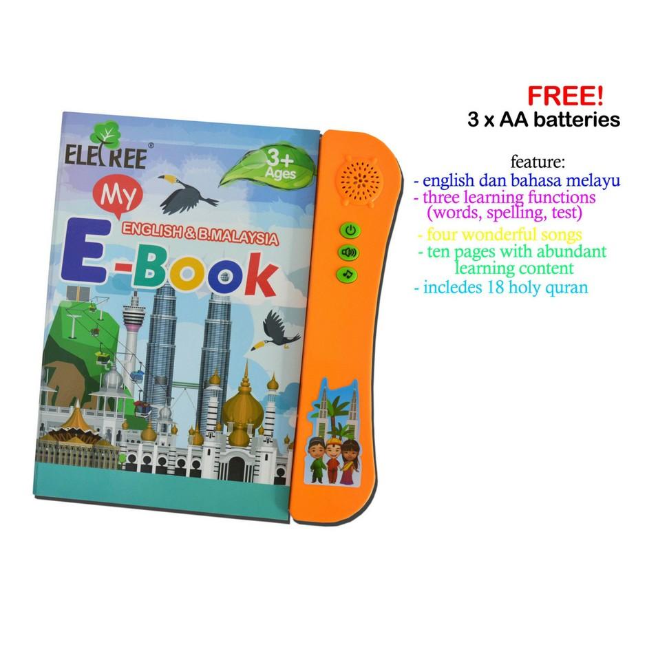 3 In 1 Islamic/English/Malay Kids Learning EBook