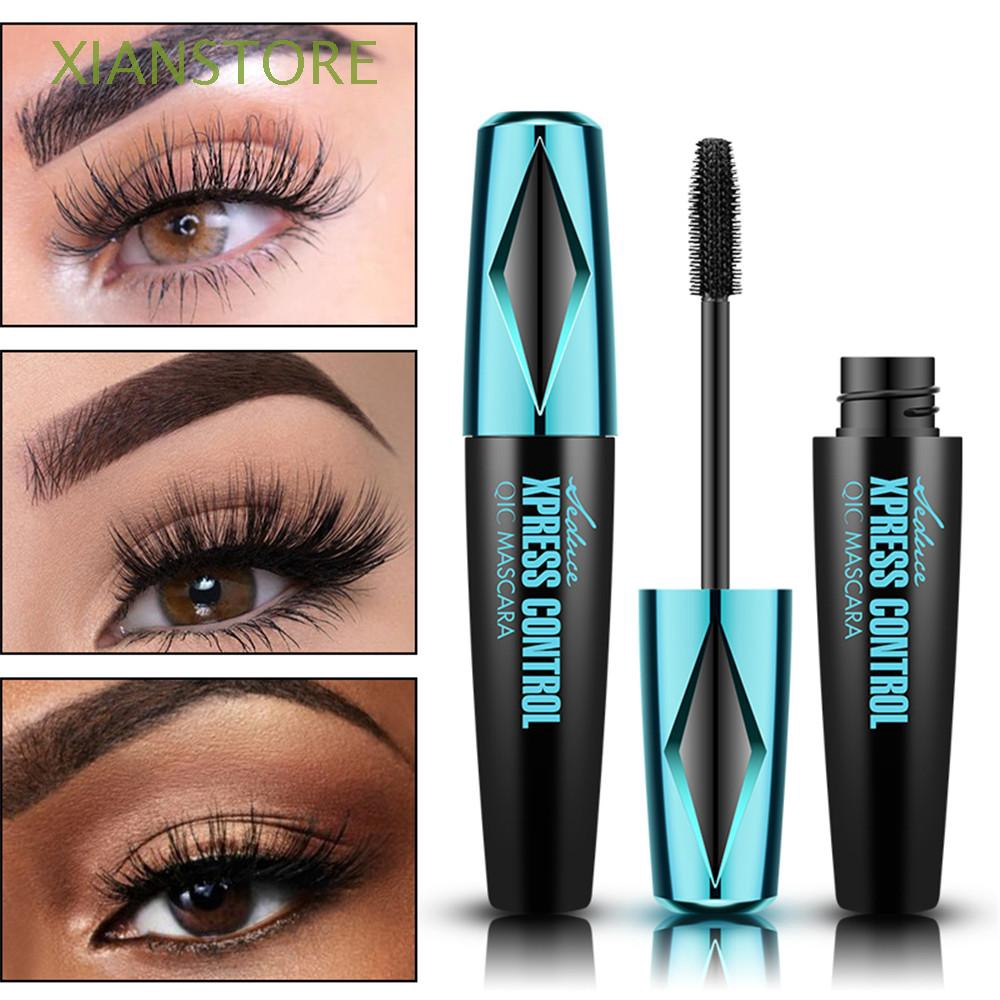 [QIC] Cosmetic Makeup Beauty Curling Thicker Waterproof Silicone Brush Black Mascara