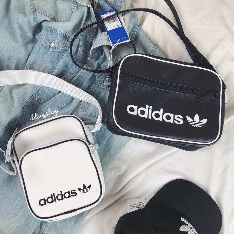Celo eco Bandido  Adidas Originals Clover Bag Leather Black Dh1004 White Dv2491 | Shopee  Malaysia