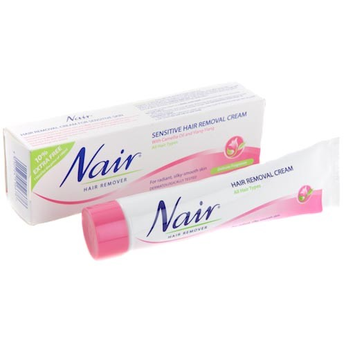 Nair Sensitive Hair Removal Cream 80ml Exp 07 2021 Shopee Malaysia