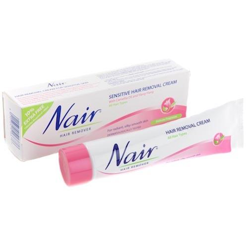 Nair Sensitive Hair Removal Cream 80ml Shopee Malaysia