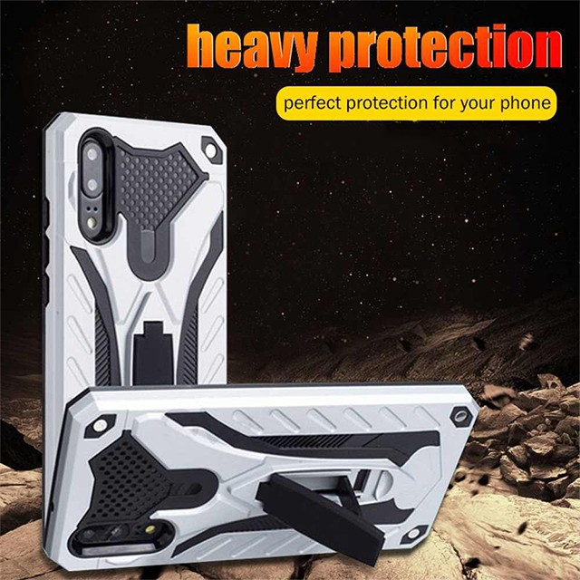 Samsung A10/A20/A30/A50/A70/A80/A90A9/A8/A7/Note8/Note9/Note10/S10 Armor Hard Case With Stand