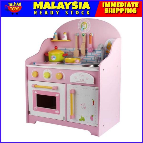 Dapur Kanak Kanak Saiz Besar Children Wooden Kitchen Japanese Style Set Big Size Toys For Kids Pretend Play Local Stock Shopee Malaysia