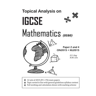Topical Analysis on IGCSE Mathematics Revision Book | Shopee Malaysia