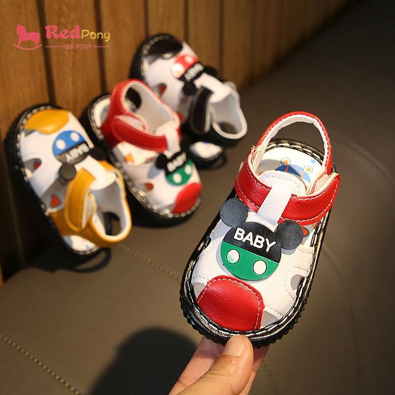 Summer Soft Bottom Kid's Sandals Mickey Boys Girls Sandal ...