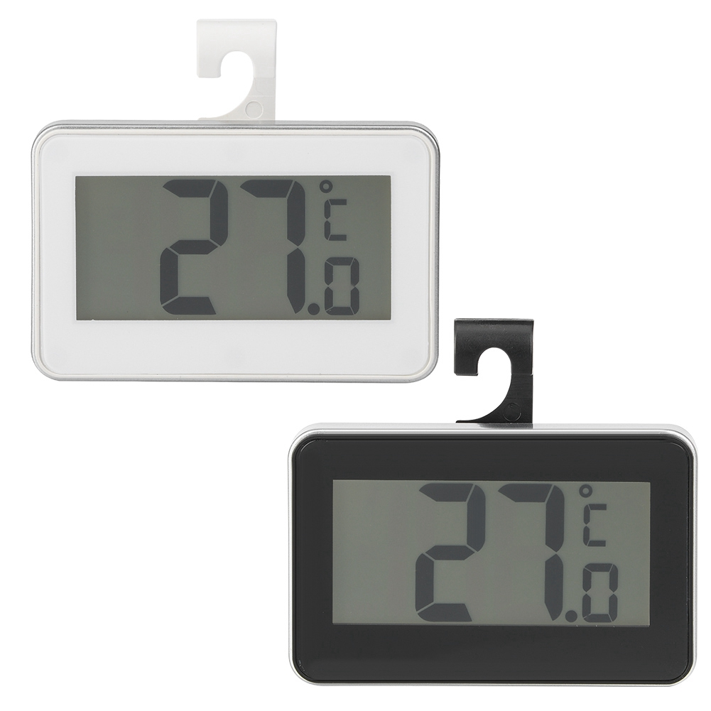 TS-A95 Digital LCD Thermometer Temperature Meter Waterproof High Accuracy WHITE