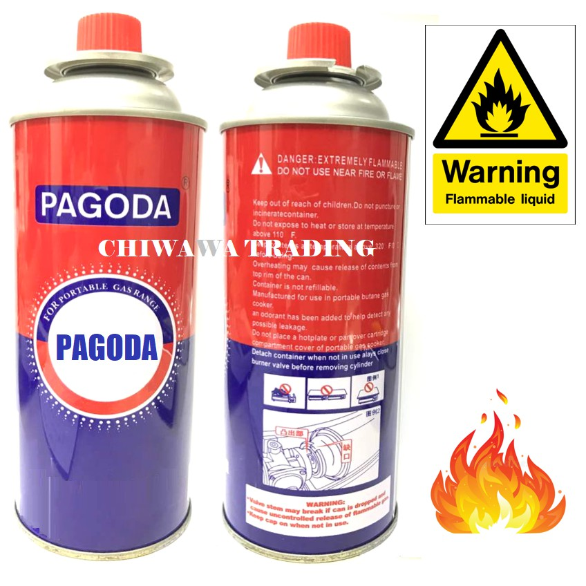 【Anti-Explode】Butane Gas Cartridge Liquefied Gas Can for Stoves and  Torch Gun