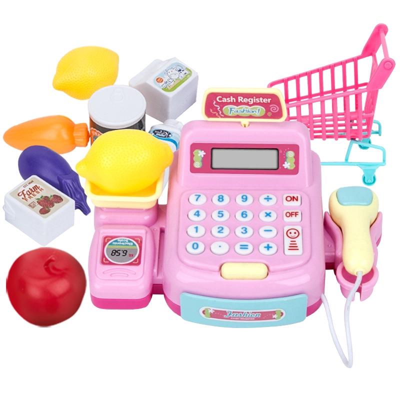Children's simulation cash register toy girl Kitchen Home supermarket cashier