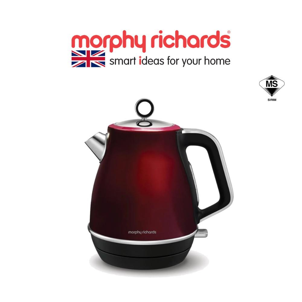 Morphy Richards Jug Kettle Evoke Red 104408