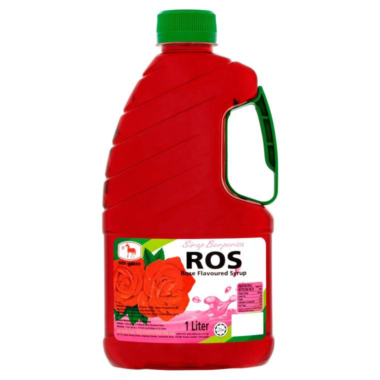 Red Horse Cordial (1L) - Rose / Ros | Shopee Malaysia