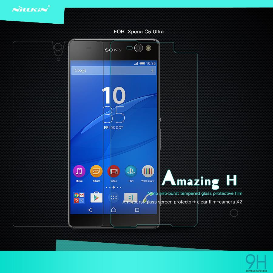 Nillkin Sony Xperia C3 C5 Ultra Tempered Glass H