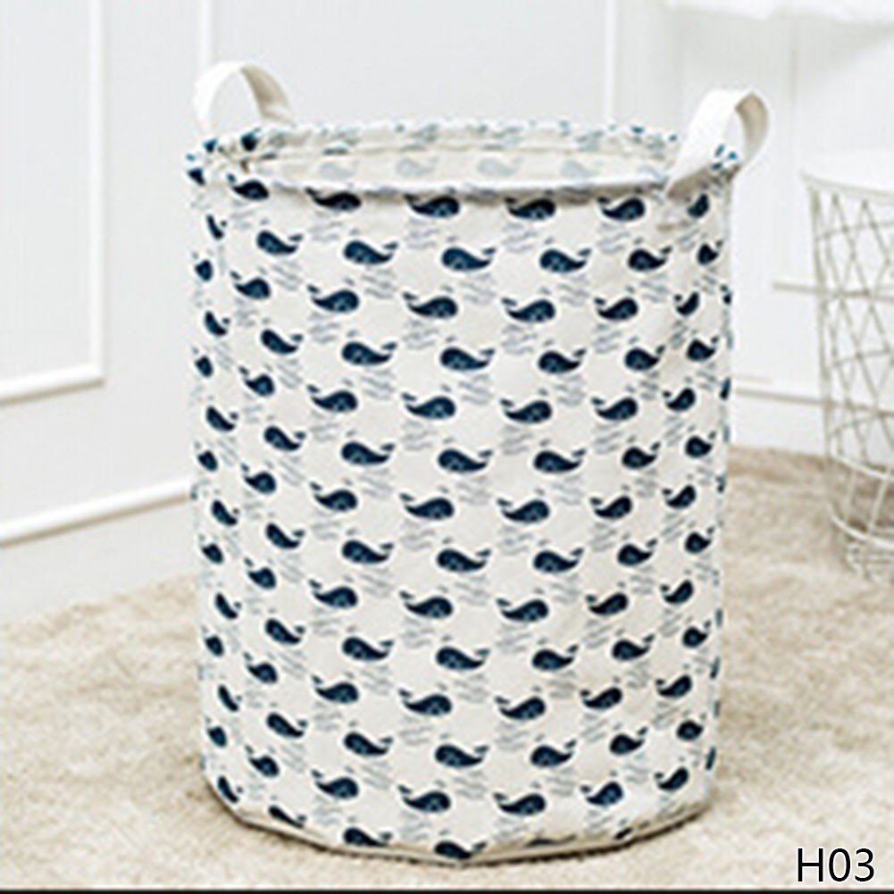 75feebdbf4be Laundry Storage Basket Linen Waterproof Folding Sundries Clothes Toy ...