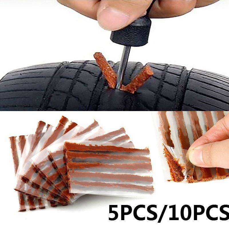 Car Self Tire Repairing Plug Tubeless Seal Patch Tyre Maintenance Kit