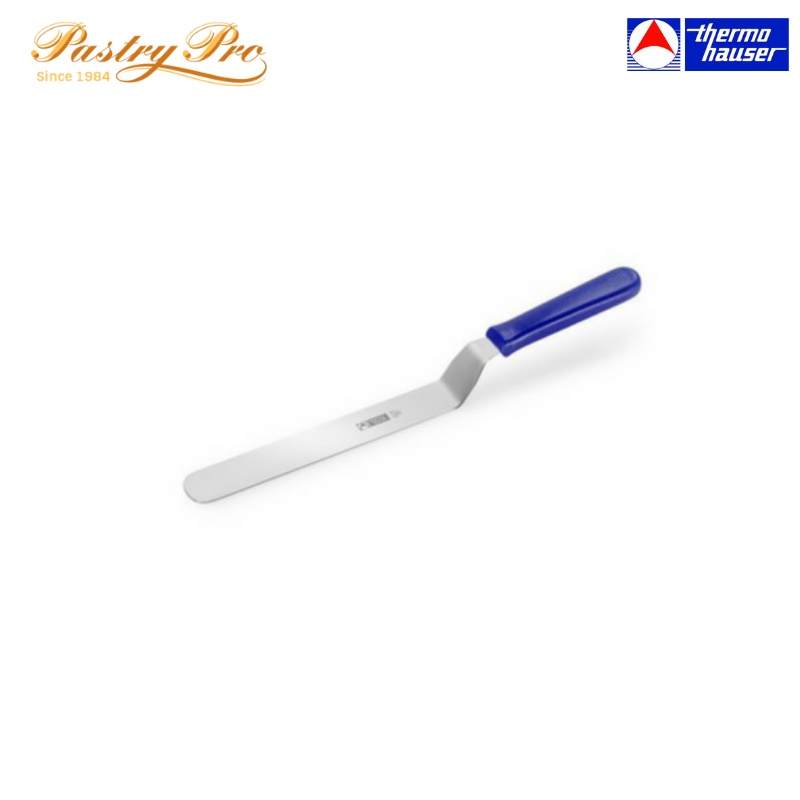 Thermohauser, Stainless Steel Spatula, Angular Blade, L 15 cm, W 3.4 cm