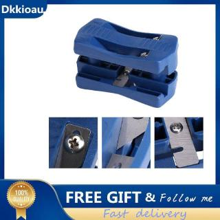 [Dkkioau] PVC Wood Edge Banding Machine 2 Edges Trimming Woodworking Tool  Manual Tail
